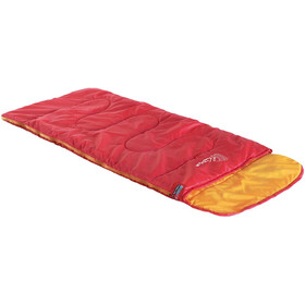 High Peak Kiowa Sac de couchage gauche Enfant, red/orange